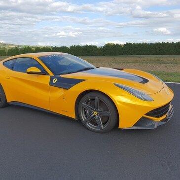 Stage de pilotage Ferrari en région Bourgogne