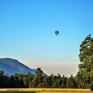 Baptême de l'air montgolfière, département Savoie