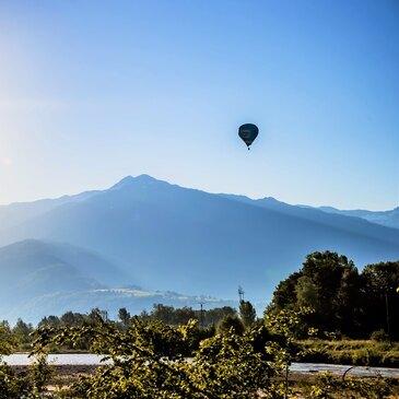 Frontenex, à 10 min d'Albertville, Savoie (73) - Baptême de l'air montgolfière