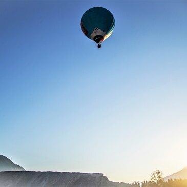 Baptême de l'air montgolfière proche Frontenex, à 10 min d'Albertville