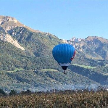 Vol Privatif en Montgolfière à Albertville en région Rhône-Alpes