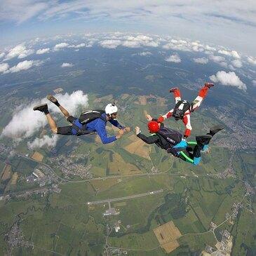 Stage Parachutisme PAC, département Ardennes