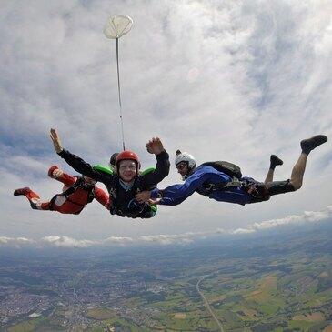 Stage Parachutisme PAC en région Champagne-Ardenne