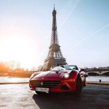 Balade en Ferrari California T à Paris