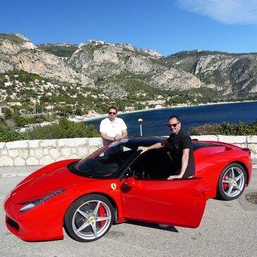 Stage sur Route en Ferrari 458 Italia à Monaco