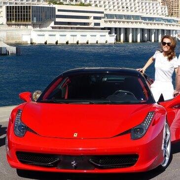 Stage sur Route en Ferrari 458 Italia près de Nice