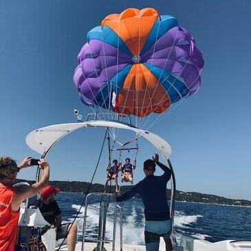 Parachute Ascensionnel en région Provence-Alpes-Côte d'Azur et Corse