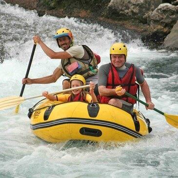 Rafting sur le Gave d'Ossau près de Pau