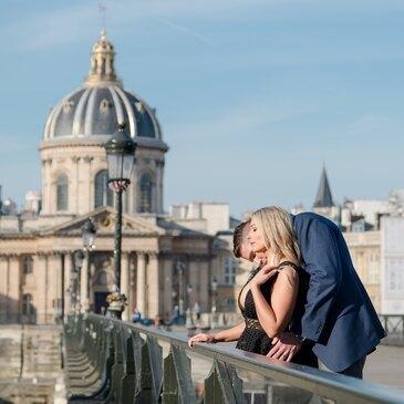 Séance Photo en Couple à Paris Louvre