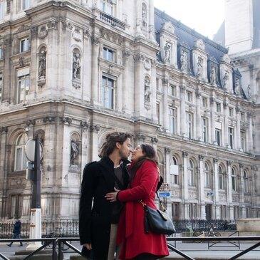 Séance Photo en Couple à Paris Opéra