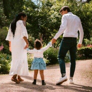 Séance Photo en Famille à Paris Trocadéro