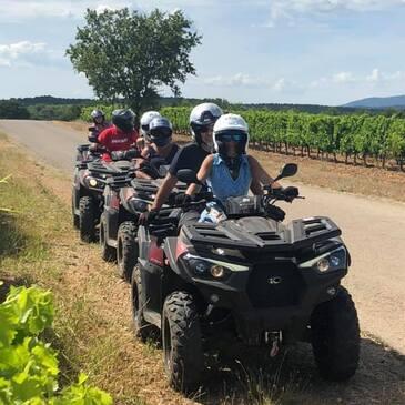 Randonnée Quad près de Draguignan