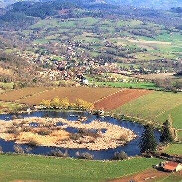 Beaulieu, à 20 min du Puy-en-Velay, Haute loire (43) - Baptême en ULM et Autogire