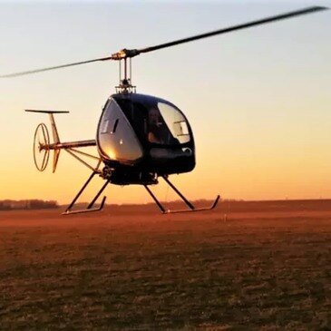 Baptême en Hélicoptère ULM à Meaux