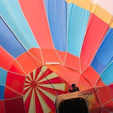 Baptême de l'air montgolfière, département Ariège