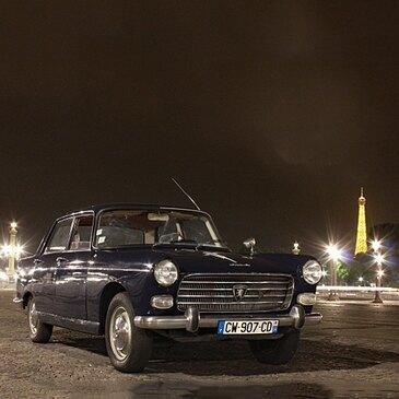 Découverte Nocturne du Paris Insolite en Voiture de Collection