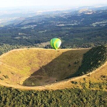 Vol en Montgolfière - Survol des Volcans d'Auvergne