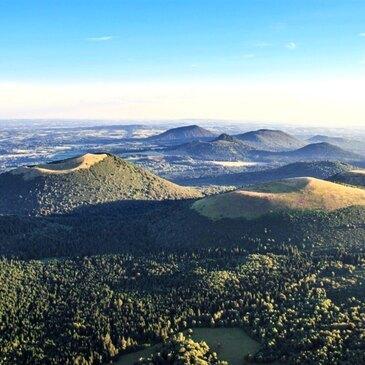 Orcines, Puy de dôme (63) - Baptême de l'air montgolfière