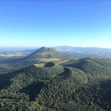Baptême de l'air montgolfière proche Orcines