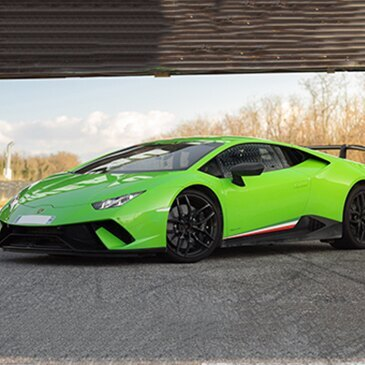 Anneau du Rhin, Haut rhin (68) - Stage de pilotage Lamborghini