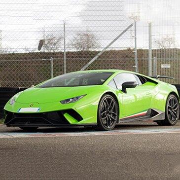 Baptême en Lamborghini Huracan - Circuit de l'Anneau du Rhin