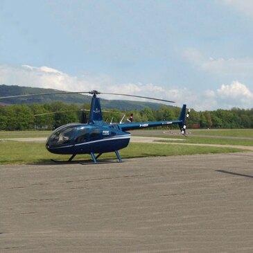 Pilotage d'Hélicoptère R66 à Nancy