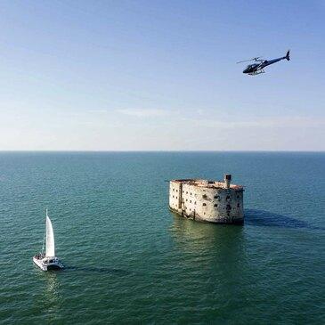 Baptême en Hélicoptère à Oléron – Survol de Fort Boyard