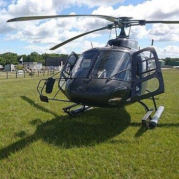 Baptême de l'air hélicoptère en région Poitou-Charentes