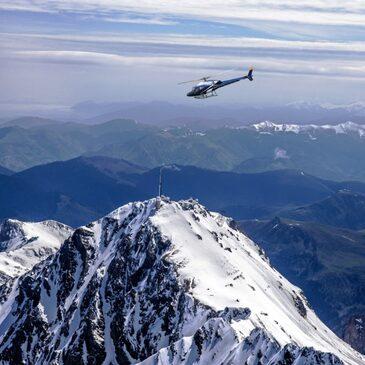 Baptême en Hélicoptère proche de Tarbes - Survol du Pic du Midi