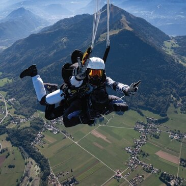 Hélisurface de Morzine, Haute savoie (74) - Saut en parachute