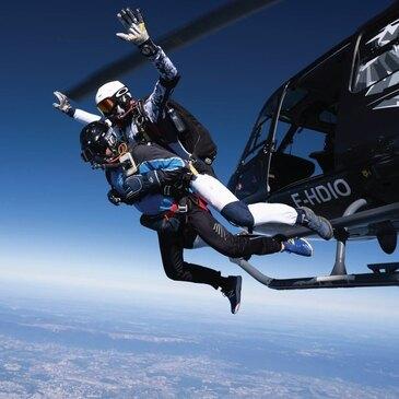 Saut en parachute proche Hélisurface de Morzine