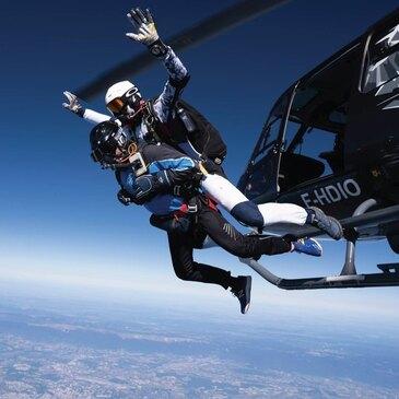 Saut Parachute depuis un Hélicoptère près d'Annemasse