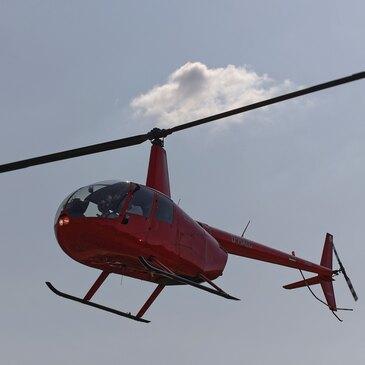 Baptême de l'air hélicoptère, département Marne