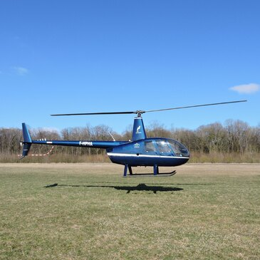 Baptême de l'air hélicoptère, département Aube