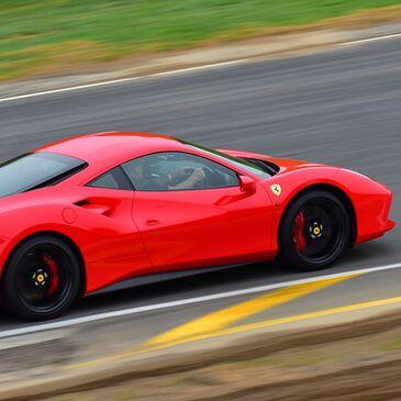 Stage De Pilotage En Ferrari 488 Gtb De Saint Laurent De Mure