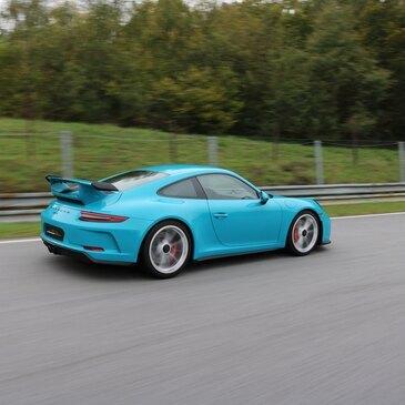 Stage de pilotage Porsche, département Côte d'or