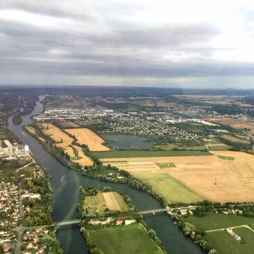 Thoiry, Yvelines (78) - Baptême de l'air paramoteur