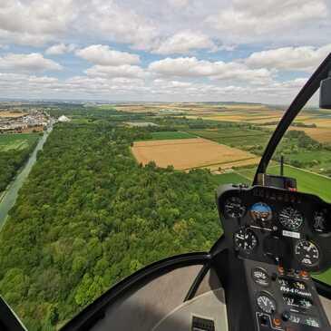 Baptême de l'air hélicoptère en région Lorraine