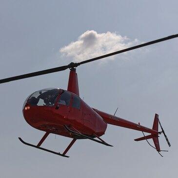 Aéroport de Luxembourg-Findel, à 50 min de Metz, Moselle (57) - Baptême de l'air hélicoptère
