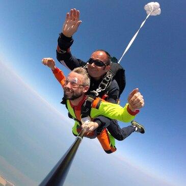 Saut en Parachute Tandem près de Deauville