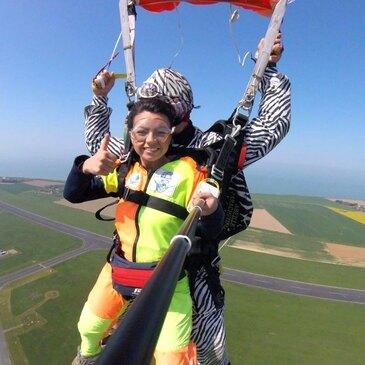 Saut en parachute proche Aéroport du Havre-Octeville, à 45 min de Deauville