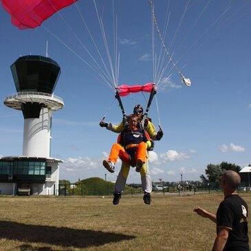 Saut en Parachute Tandem près de Deauville en région Basse-Normandie