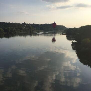 Baptême de l'air montgolfière, département Morbihan