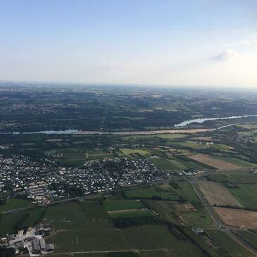 Nantes, à 1h30 de Vannes, Morbihan (56) - Baptême de l'air montgolfière