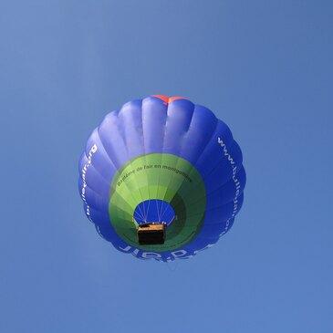 Baptême de l'air montgolfière proche Nantes, à 1h30 de Vannes