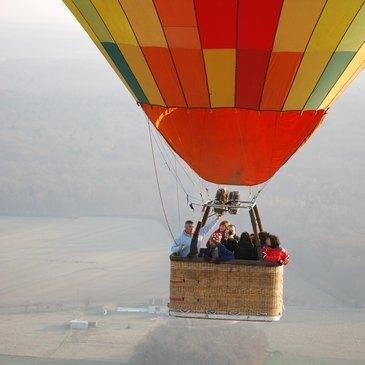 Baptême de l'air montgolfière, département Yvelines