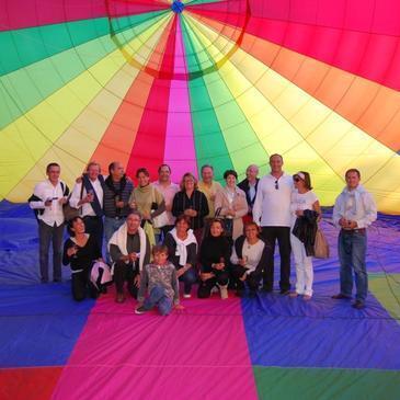 Baptême de l'air montgolfière proche Maintenon, à 1h de Versailles