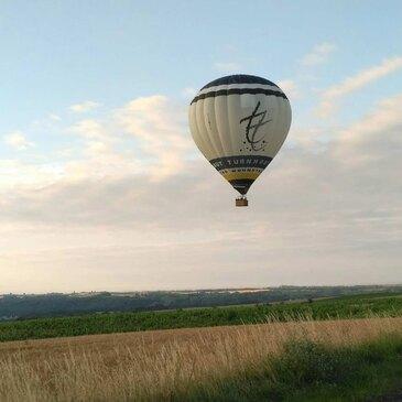 Baptême de l'air montgolfière proche Albi, à 40 min de Castres