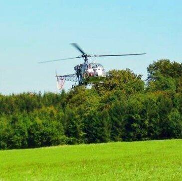 Aérodrome de Montbéliard, à 40 min de Mulhouse, Haut rhin (68) - Baptême de l'air hélicoptère