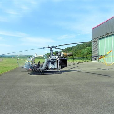 Baptême de l'air hélicoptère proche Aérodrome de Montbéliard, à 40 min de Mulhouse